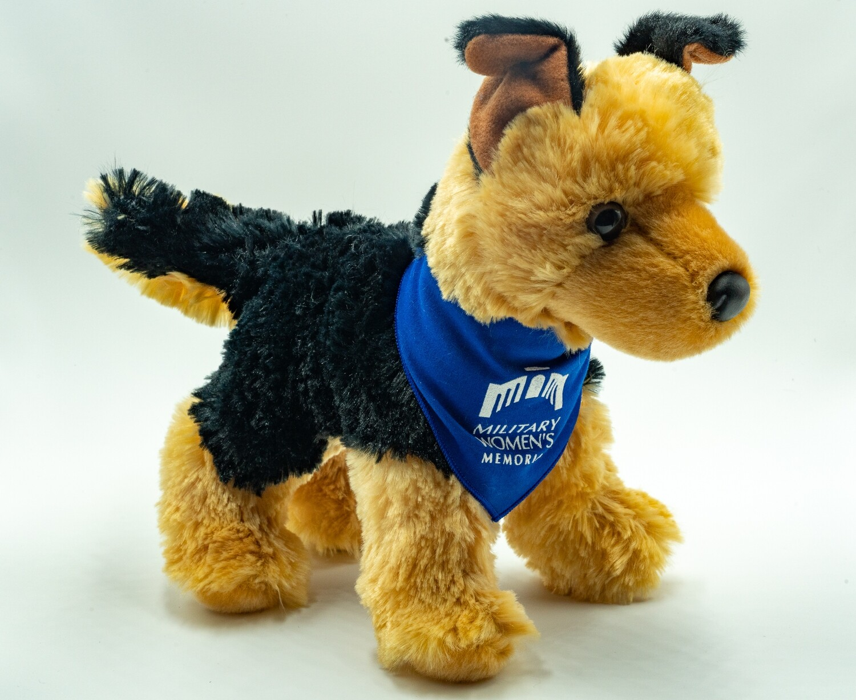 Plush Dog (Blue)