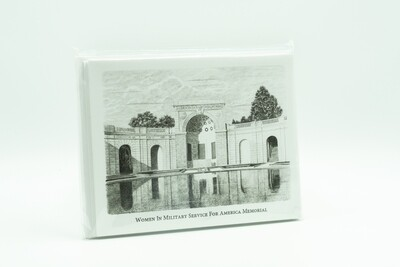B&W Memorial Notecards