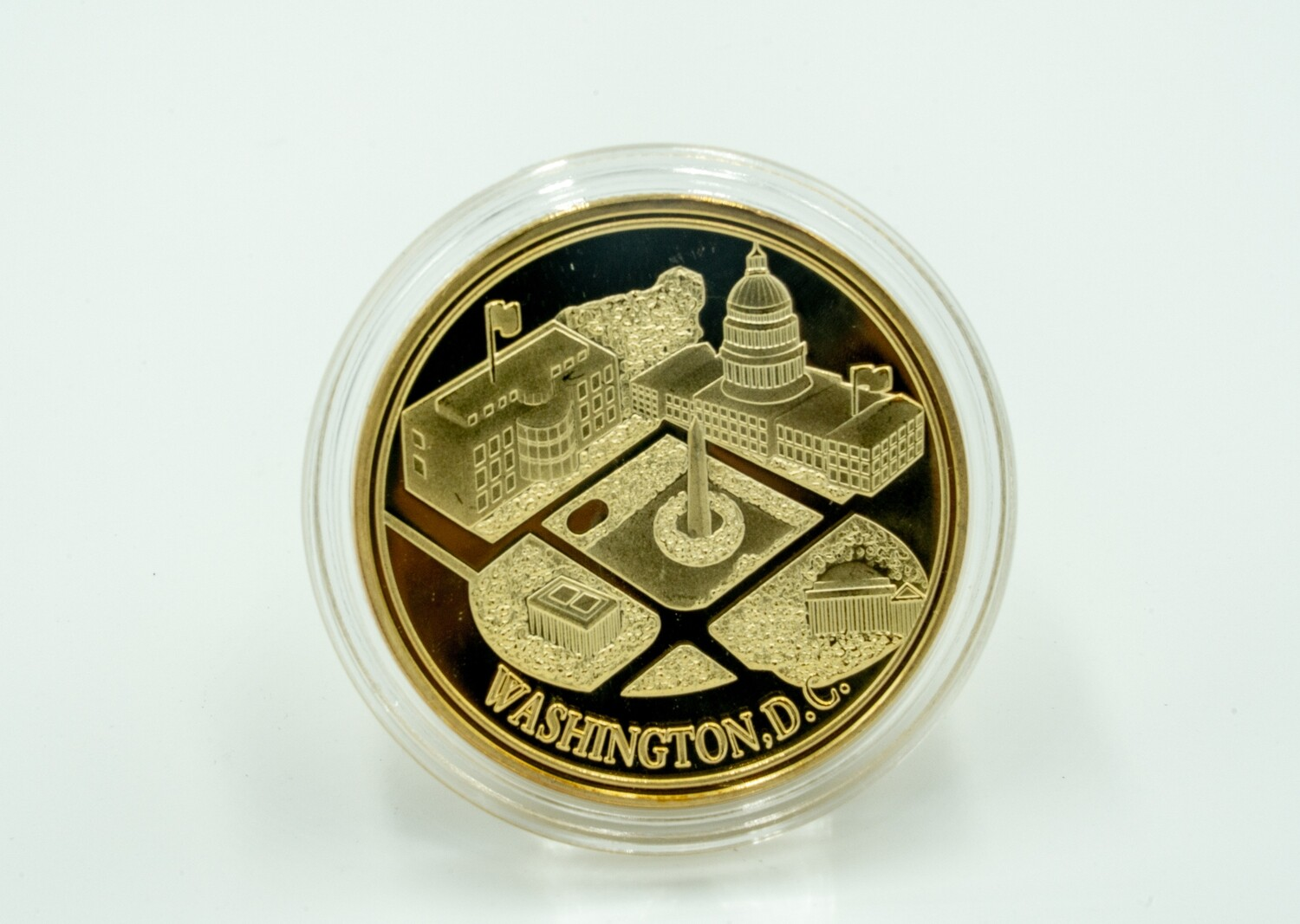 Five D.C. Monuments Coin