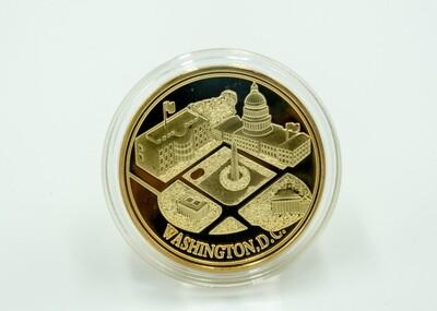 Five D.C. Monuments Coin