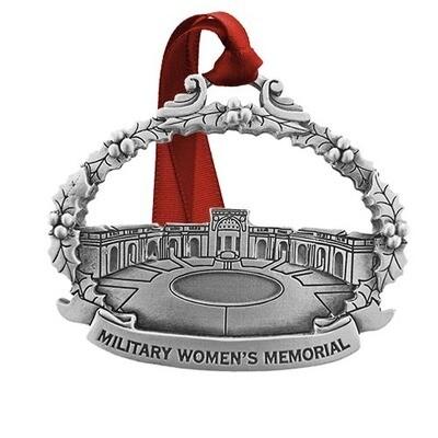Military Women's Memorial Ornament