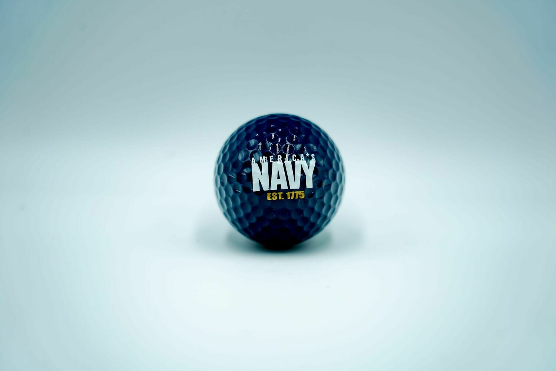 Navy Golf Ball (Blue)