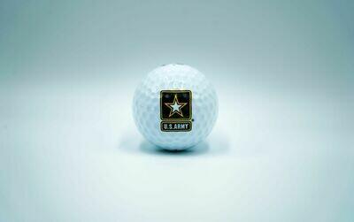 Army Golf Ball (White)