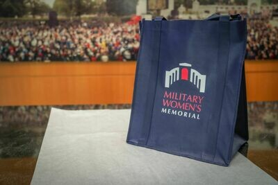 Military Women's Memorial Grocery Tote