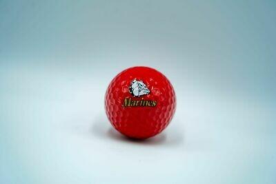 Marine Corps Golf Ball (Red)