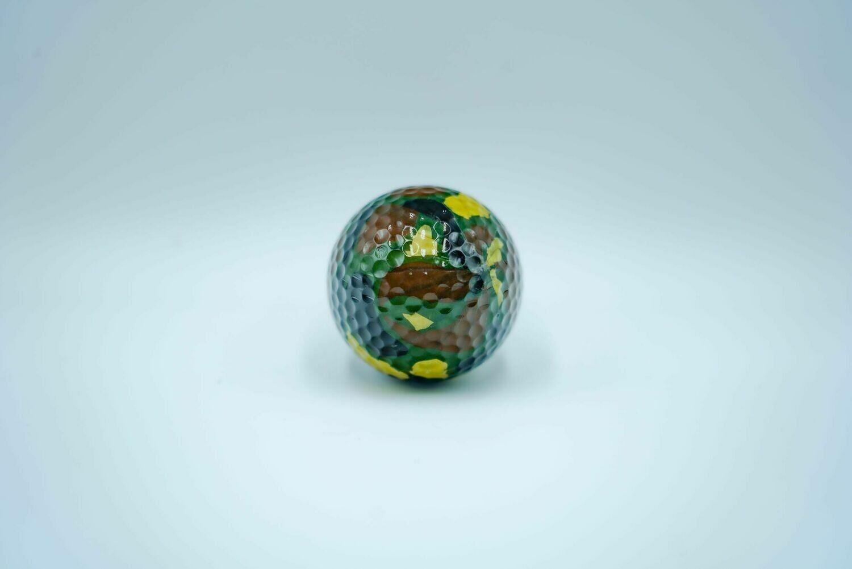Camoflage Golf Ball