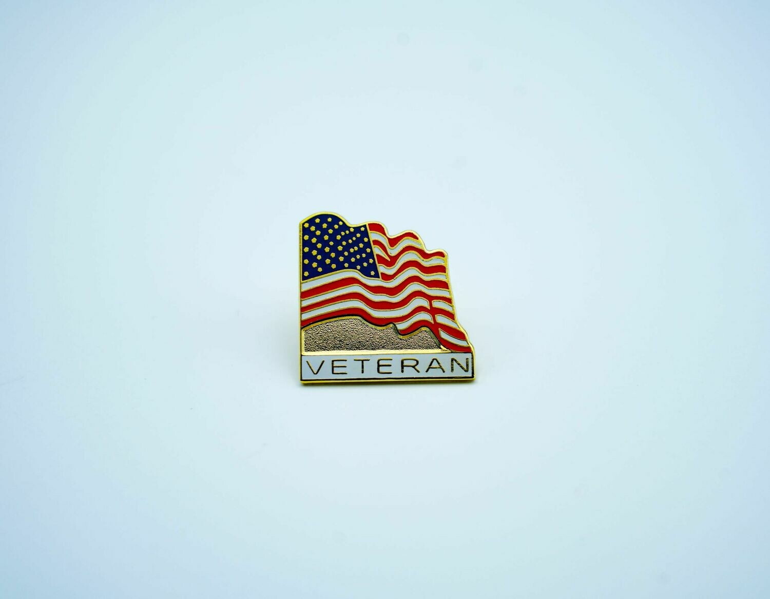 American Flag w/ Veteran Pin