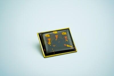 3 Marines Pin