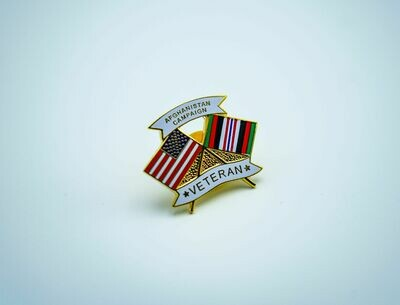 Afghanistan Campaign Pin