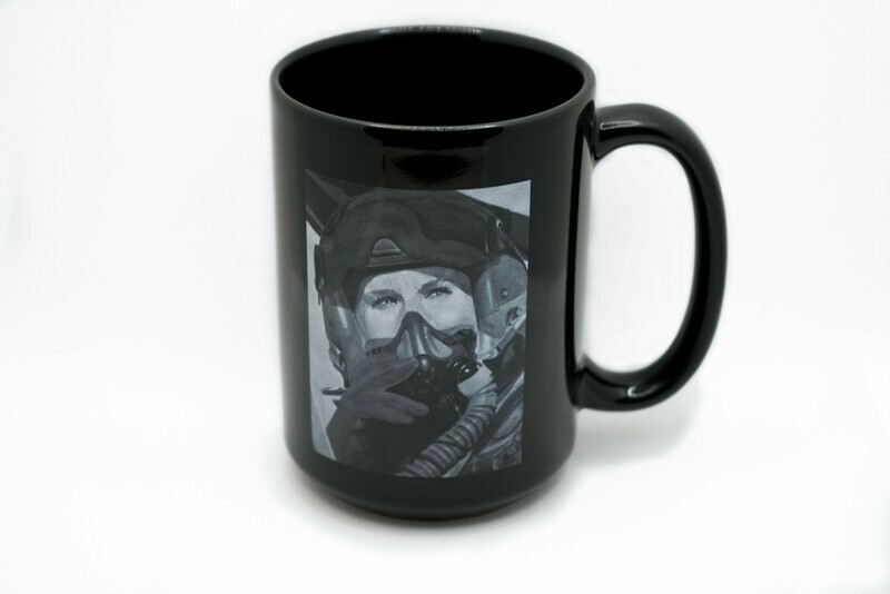 Face of Courage Air Force Mug