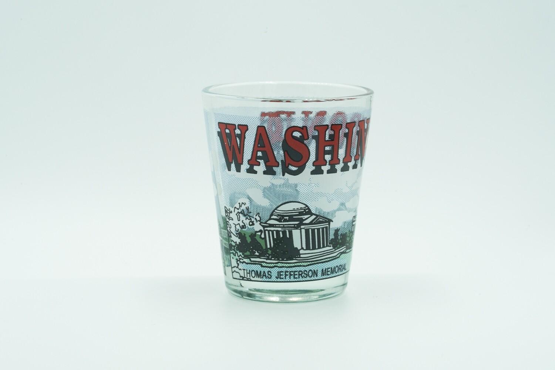 Red D.C. Shotglass