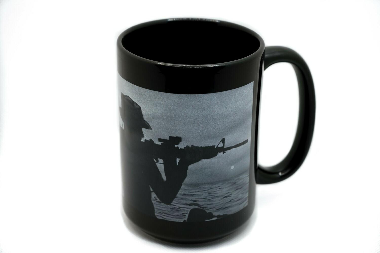Face of Courage Coast Guard Mug
