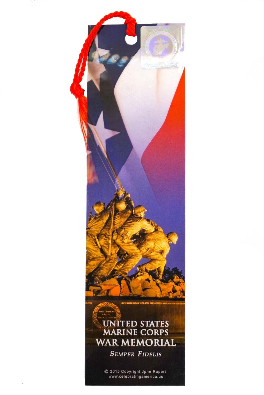 Marine Corps War Memorial Bookmark