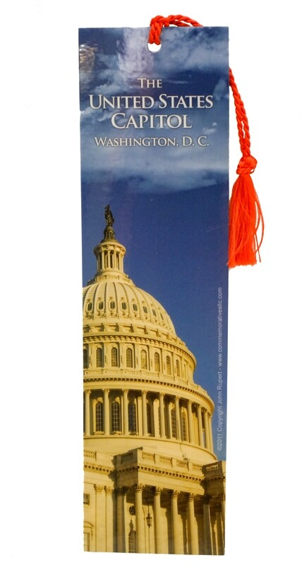 US Capitol Bookmark