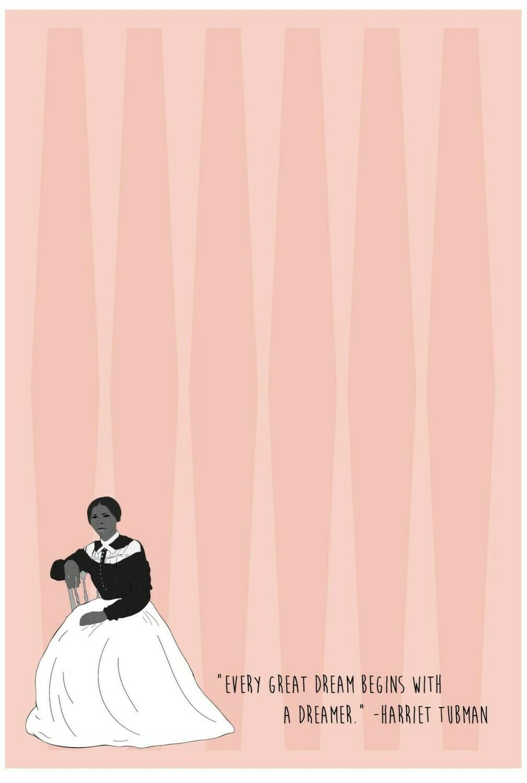 Harriet Tubman Notepad