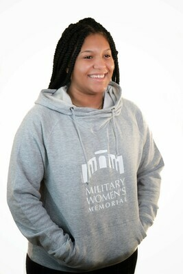 Light Grey Pullover Hoodie- Large