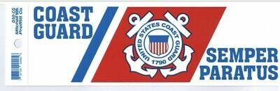 USCG Bumper Sticker