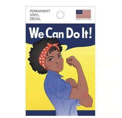 African American Rosie Vinyl Decal