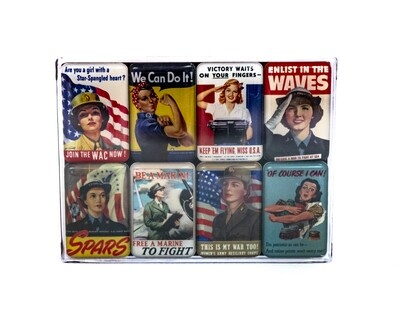 Women of WWII Magnet Set 8 Pc.