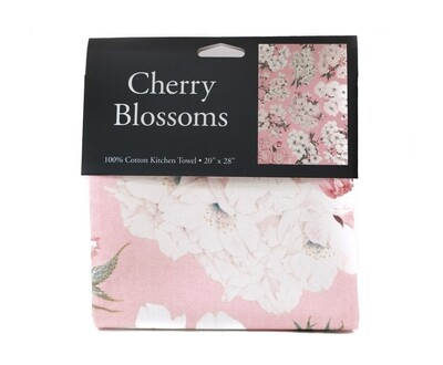 Cherry Blossom Kitchen Towel