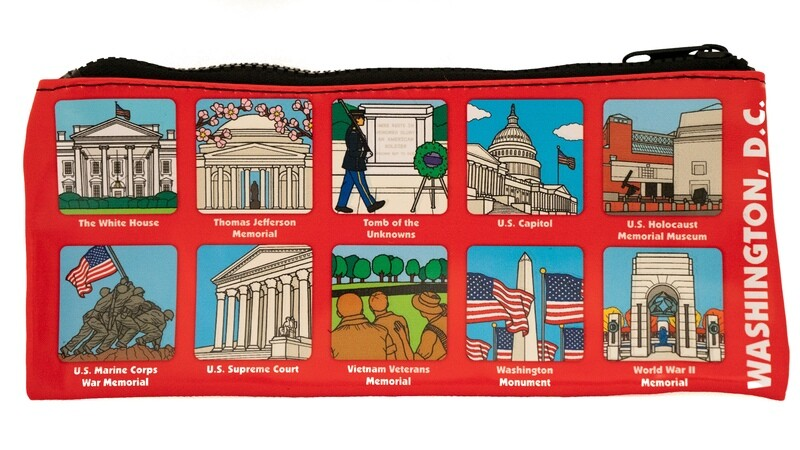 Zipper Pouch Washington DC