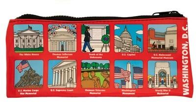 Zipper Pouch Washington DC