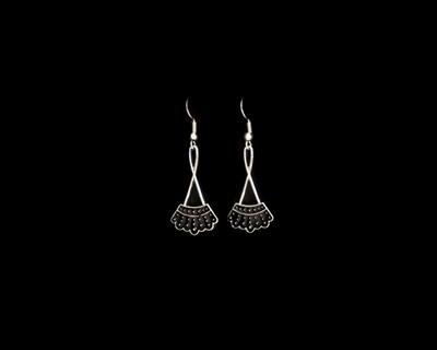 RBG Sterling Dangle Earrings