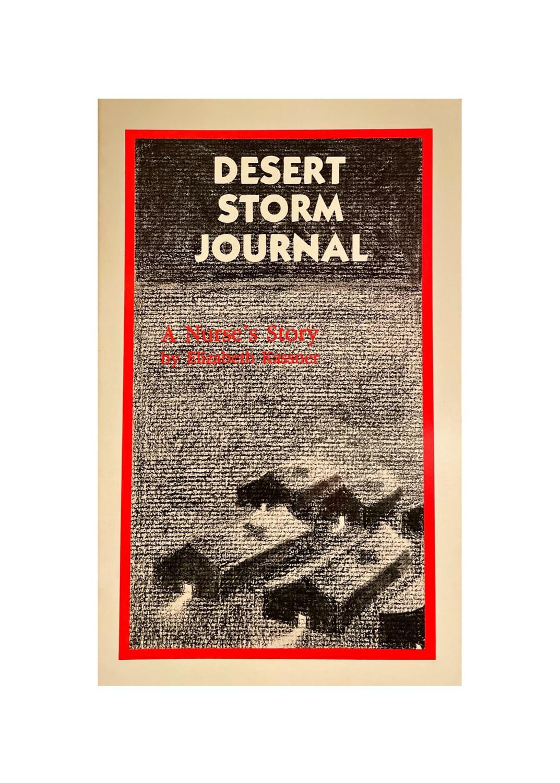 Desert Storm Journal by Elizabeth Kassner