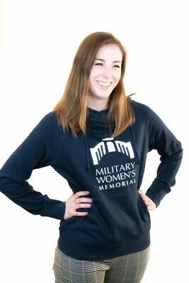 Women's Blue Hoodie Pullover - M