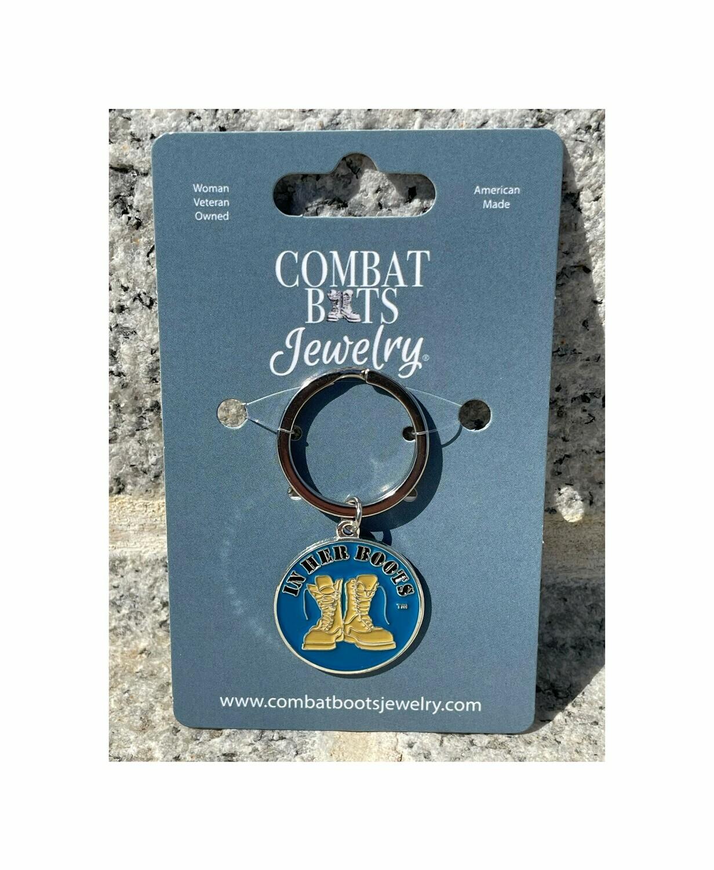 Coast Guard Boots Keychain