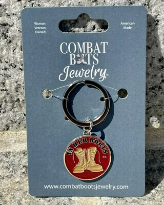 Marine Corps Boots Keychain