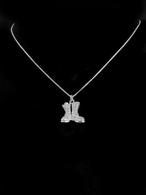 Sky Bloom Necklace Boots Sterling Silver 15mm