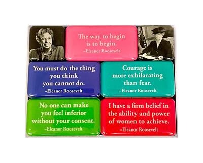 Eleanor Roosevelt Magnet Set 7 Pc.