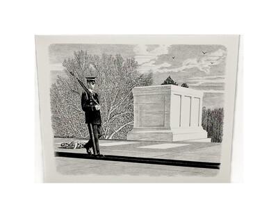 B&W Arlington Cemetery Notecards