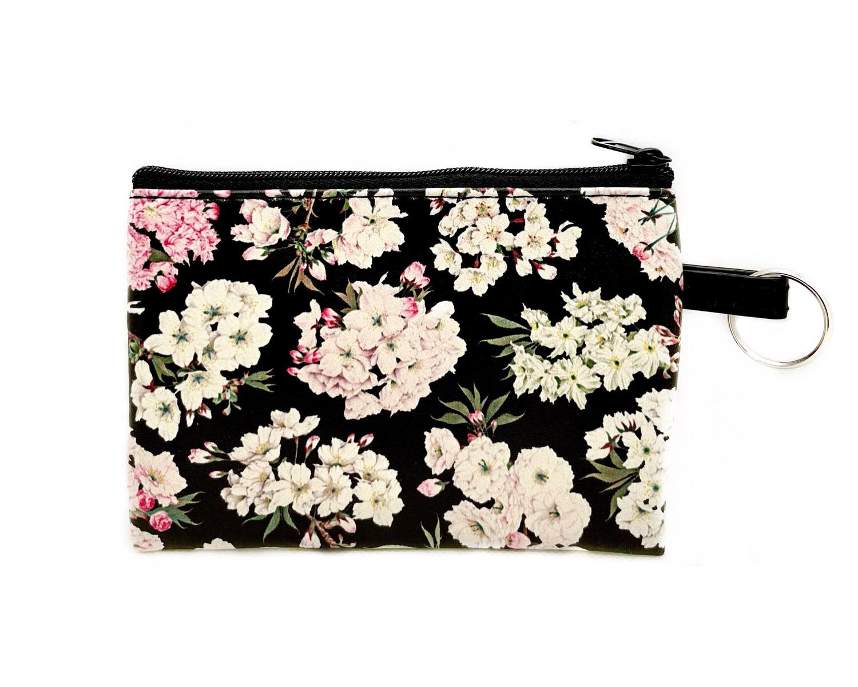 Zip Pouch Floral