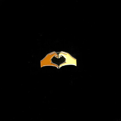 Unity Heart Hands Pin