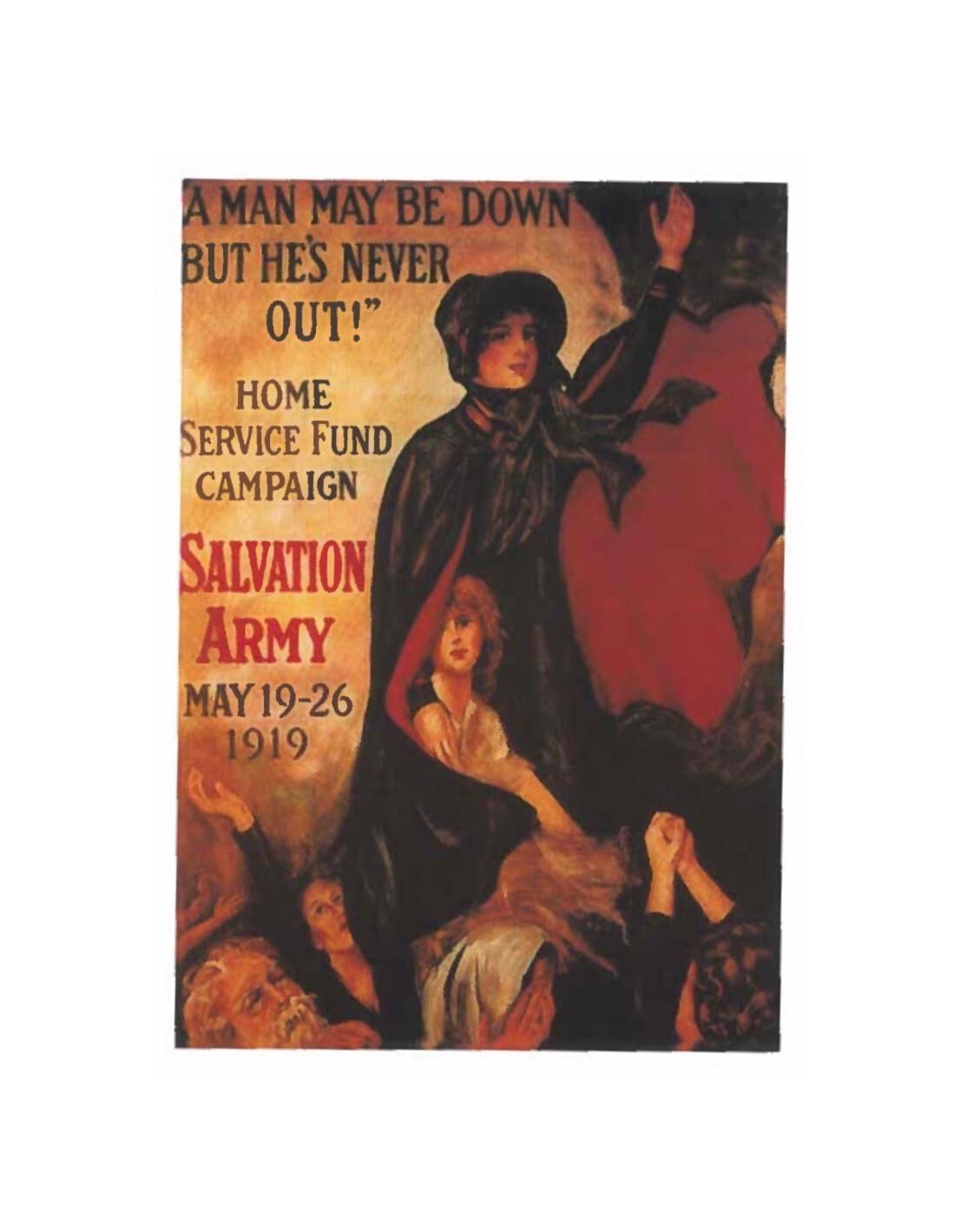 Salvation Army Postcard