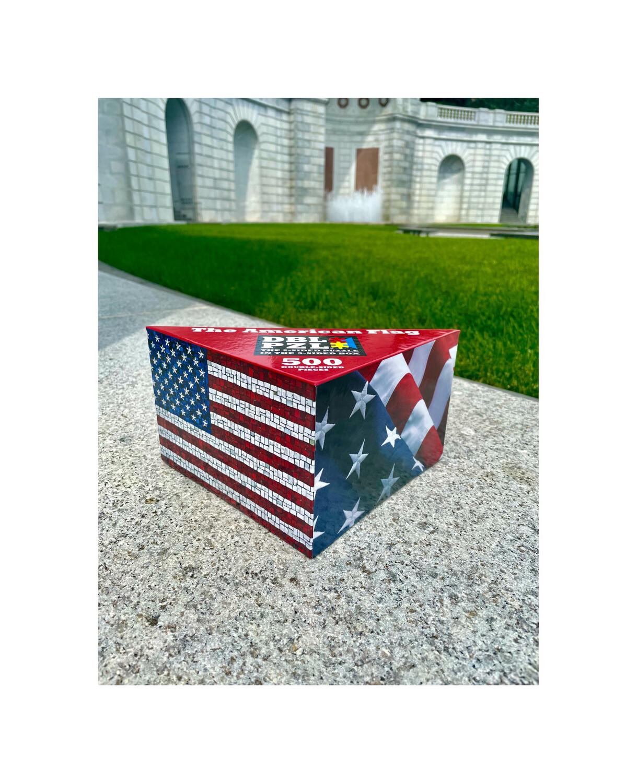 US Flag Double Puzzle