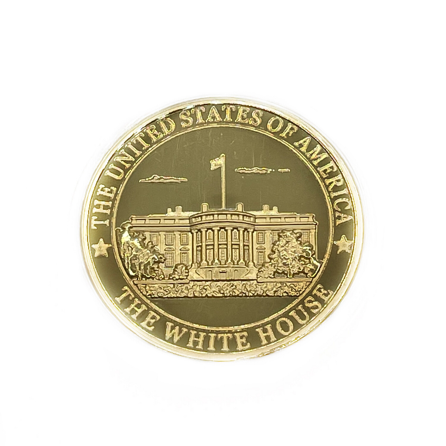 White House Coin - Gold