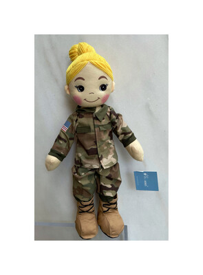 Army Doll Bess