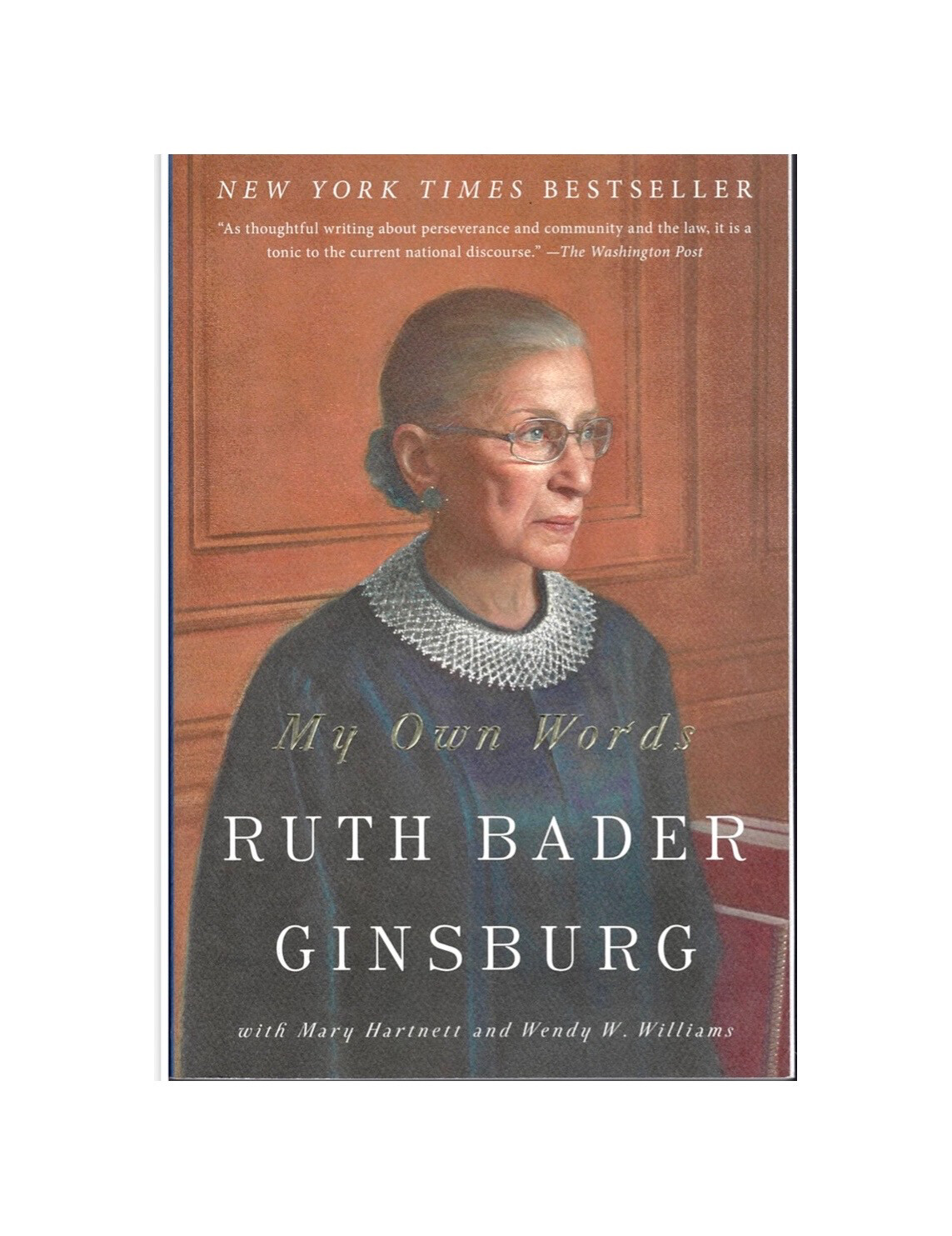 In My Own Words by Ruth Bader Ginsburg