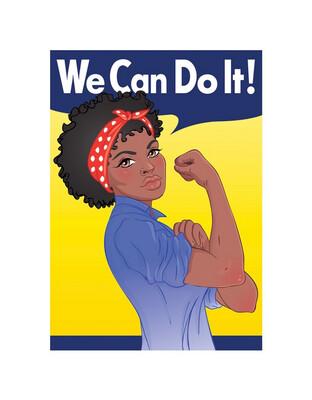 African American Rosie Postcard