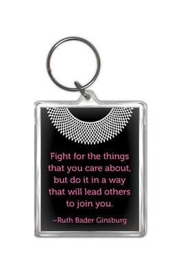 RBG Fight Keyring