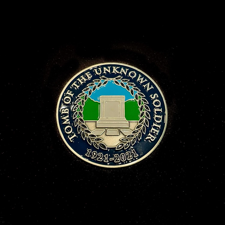 Tomb Centennial Coin