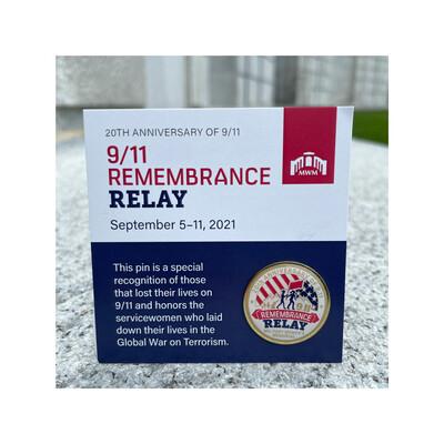 9/11 Relay Pins