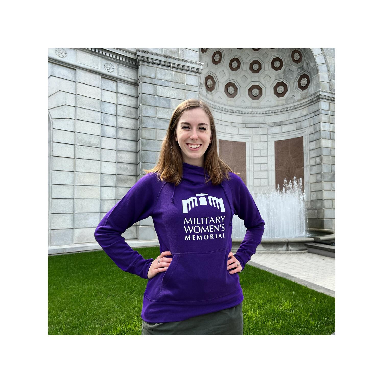 Women's XS Purple Hoodie