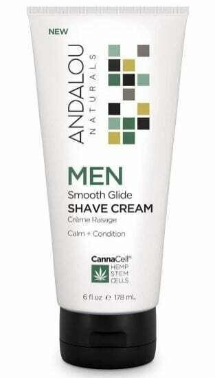 Shaving cream Andalou, Natural