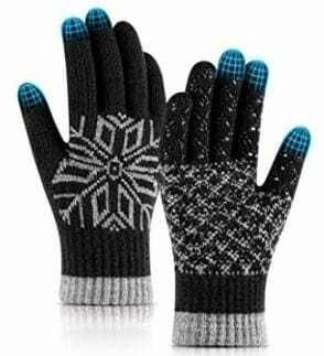 Gants d'hiver Tactile Unisexe, Medium