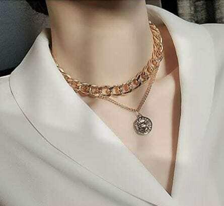 Choker necklace, 18K Gold