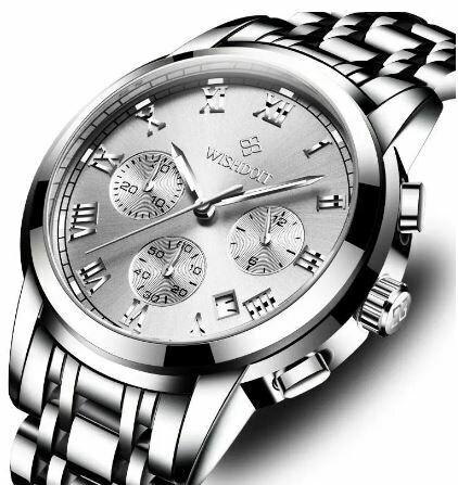 Luxury Quartz Watch, Men